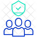 Check Mark Securiity Security Man Security Team Icon