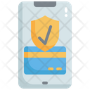 Check Mobile Payment Check Card Security Online Payment Icon