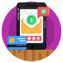 Online Payment Check Online Payment Verified Payment Icon