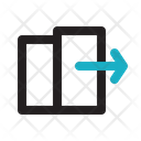 Check Out Travel Exit Icon