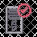 Pc Computer Check Icon