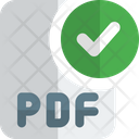 Check Pdf File Pdf File Approve Key File Icon