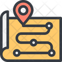 Check Point Location Point Map Icon