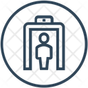Check Point Door Scan Icon