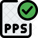 Check Pps File Pps File Approve Key File Icon