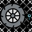 Pressure Check Tire Icon