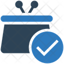 Business Financial Bag Icon