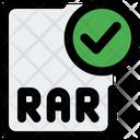 Check Rar File Check Rar Rar File Icon