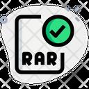 Check Rar File Icon