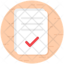 Confirm Approved Verified Icon