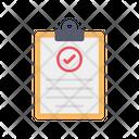 List Check Text Line Icon
