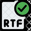 Check Rtf File Check File Rtf File Icon