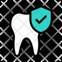 Check Secure Teeth Teeth Shield Teeth Security Icon