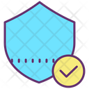 Check Security Approved Shield Checked Shield Icon