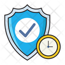 Security Deadline Protection Icon