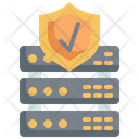 Check Server Security Server Security Approved Database Security Icon