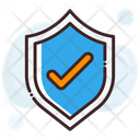 Check Shield Approved Trusted Product Concept Icon