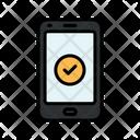 Check Smartphone Icon