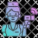 Screening Point Virus Icon