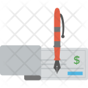 Blank Check Banking Icon
