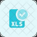 Check Xls File Xls File Approve Xls File Icon