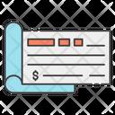 Checkbook Bank Check Paycheck Icon