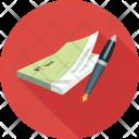Bank Checkbook Quench Icon