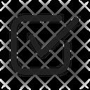 Checkbox Tick Check Icon