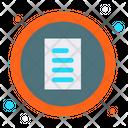 Checkbox Layout List Icon