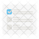 Checkbox Website Webpage Icon