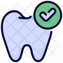 Checked Checkmark Tooth Icon
