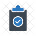 Project Clipboard Document Icon
