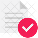 Logistics Delivery Checked Icon