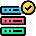 Checked Database Icon