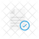 Checked File Complete Icon