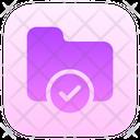 Checked Folder Icon