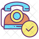 Ichecked Mark Checked Mark Approved Phone Icon