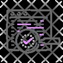 Checked Script Icon