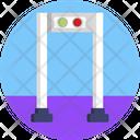 Public Transport Detector Security Icon