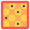 Checkerboard Checkers Chess Board Icon
