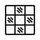 Checkered Chessboard Chess Icon