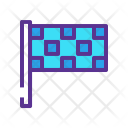 Checkered Flag Race Icon