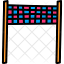 Checkered End Line Icon