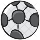 Checkered Ball Football Olympic Game Icon