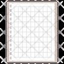 Checkered Note Icon