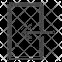 Door Check In Arrive Icon