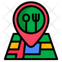 Checkin Restaurant Location Icon