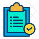 Verified Clipboard Approve Document Verified Document Icon