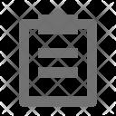 Checklist Clipboard List Icon