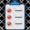 Checklist Business Tasks Check Mark Icon